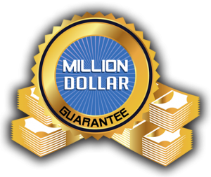 Million dollar guarantee by RoofClaim.