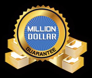 Million dollar guarantee by RoofClaim.