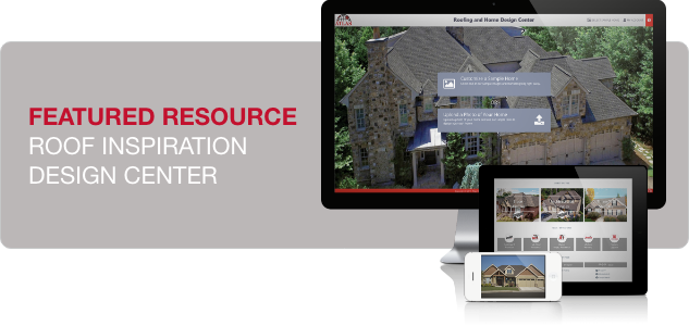 Featured resource roof inspection design center