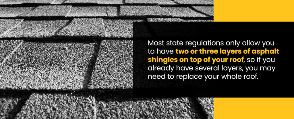 state regulations for shingle roofs