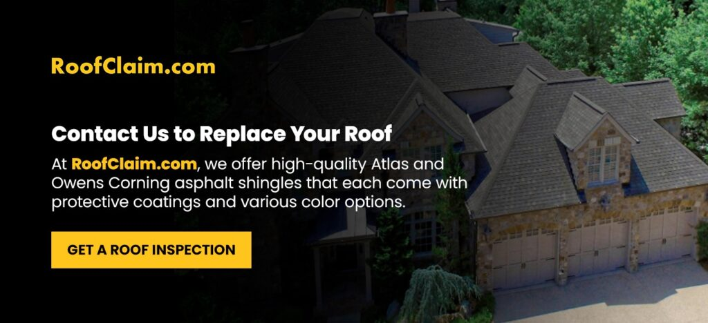 Contact Us to Replace Your Roof